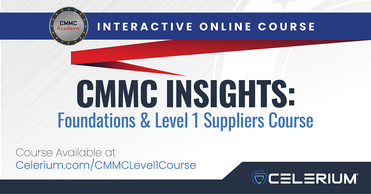 CMMC Insights Course: Foundations & Level 1